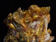 Aurypigment, realgar z kopalni złota - rzadkość