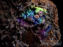 Ciekawy kolorowy goethyt z Dalniegorska