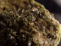 Epidot, kryształ górski -  ładne kryształy