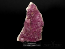 Fluoryt - rzadkie różowe zabarwienie kryształów - Meksyk