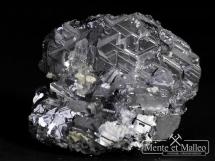 Galena, kryształ górski, dolomit, sfaleryt - Bułgaria