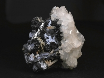 Galena, sfaleryt, kalcyt, kryształ górski, dolomit - Bułgaria