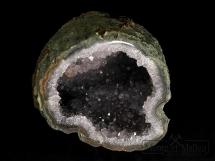 Geoda ametystowa w otoczce chalcedonowej - Urugwaj