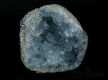 Geoda z niebieskim celestynem - Madagaskar