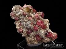 Granat grossular, wezuwian - wspaniały kolor, ciekawa lokalizacj