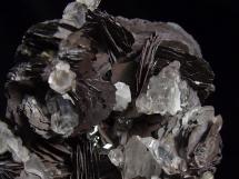 Hematyt krystaliczny, kryształ górski - Chiny