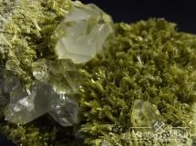 Klinozoisyt, Kryształ górski - Hiszpania