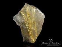 Kryształ górski, rutyl ( kwarc rutylowy )