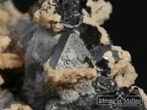 Kryształ górski, sfaleryt, galena, dolomit - Bułgaria