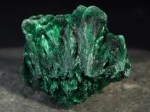 Malachit - igiełkowe kryształy - Kongo