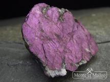 Rzadki purpuryt - fosforan manganu - cudowny kolor
