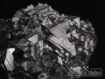 Sfaleryt - ładne zrosty kryształów