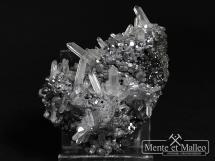Galena, sfaleryt, kryształ górski - Bułgaria