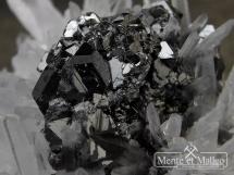 Sfaleryt, kryształ górski - ładne kryształy