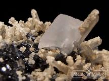 Sfaleryt, kryształ górski,dolomit, kalcyt - Bułgaria