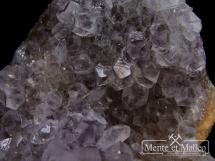 Szczotka ametystowa - wspaniałe kryształy