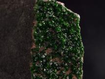 Uwarowit - granat chromowy - bardzo rzadki