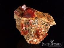 Wanadynit - wspaniałe kryształy