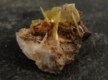 Wulfenit - rzadki minerał ołowiu, historyczna lokalizacja